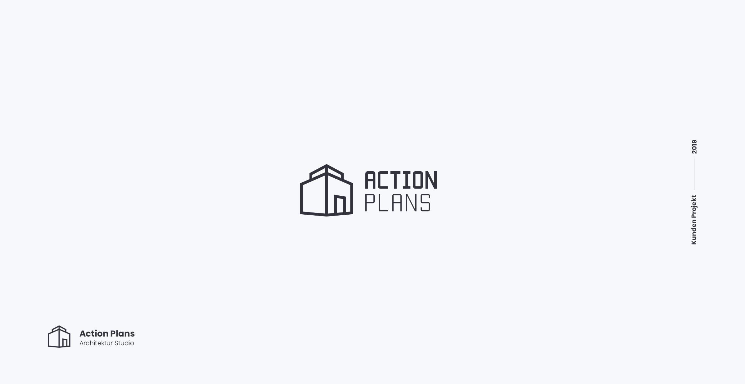 Architekt Logodesign Büro Blanko