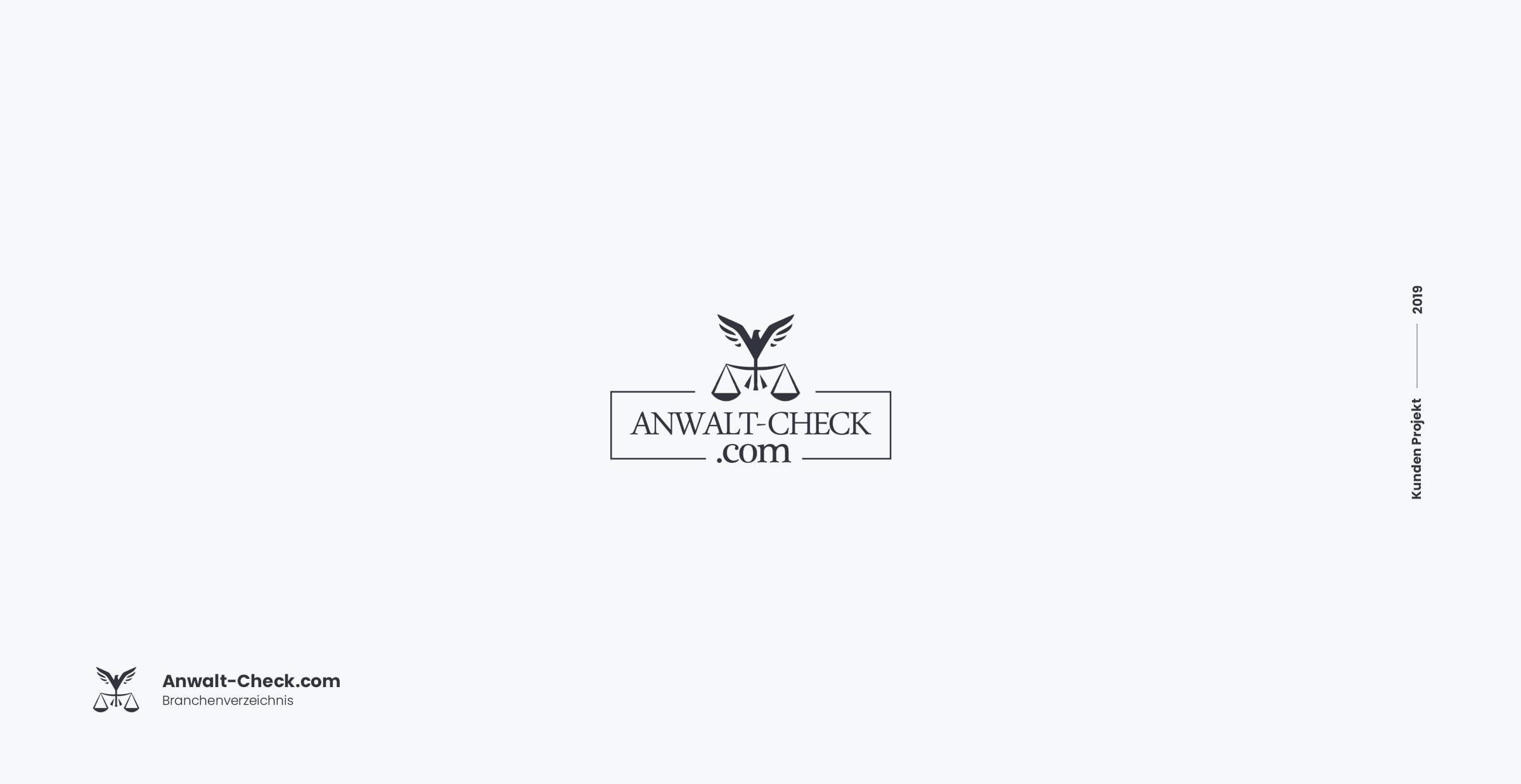 Anwalt Logo Design Büro Blanko