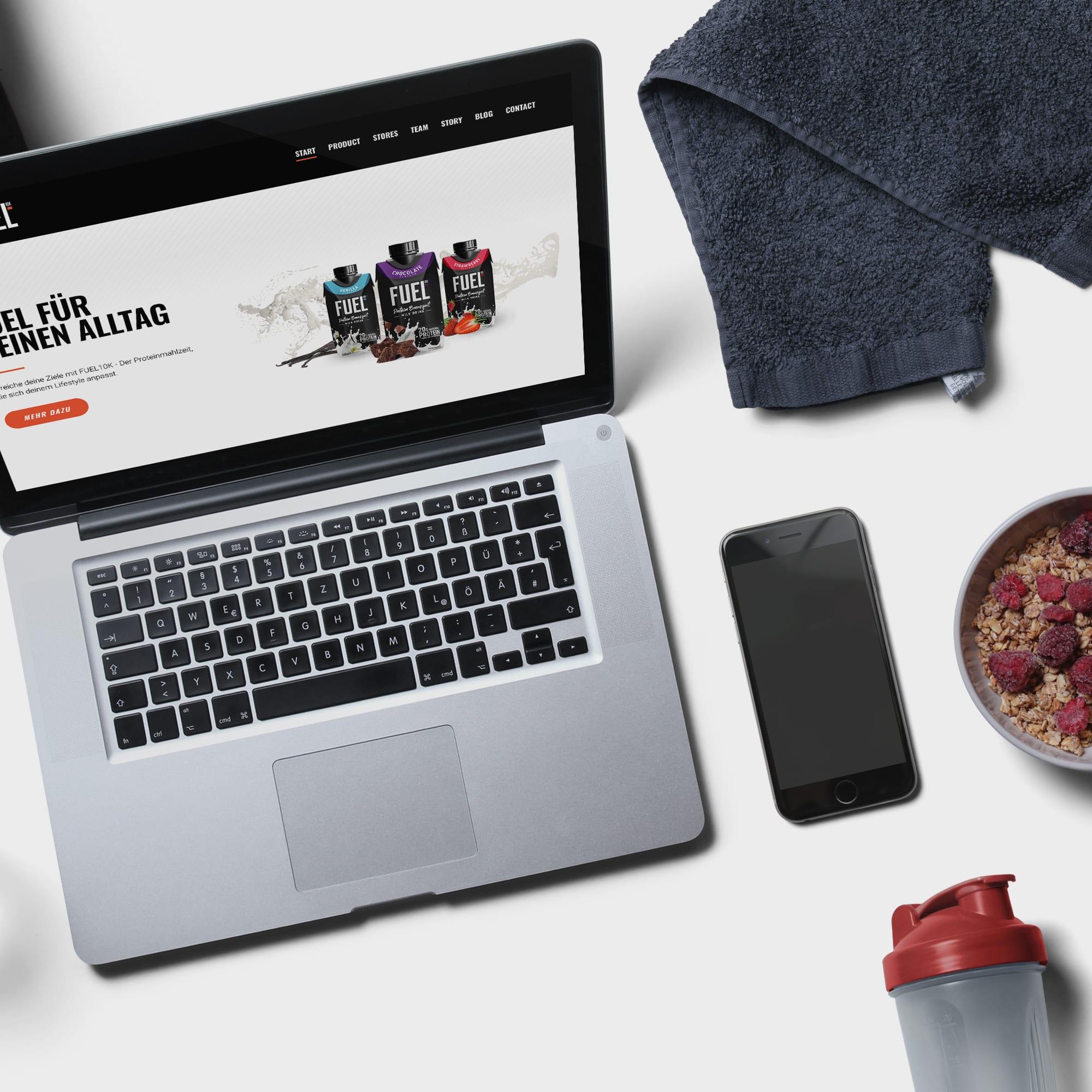 Webseiten Design Sport Büro Blanko