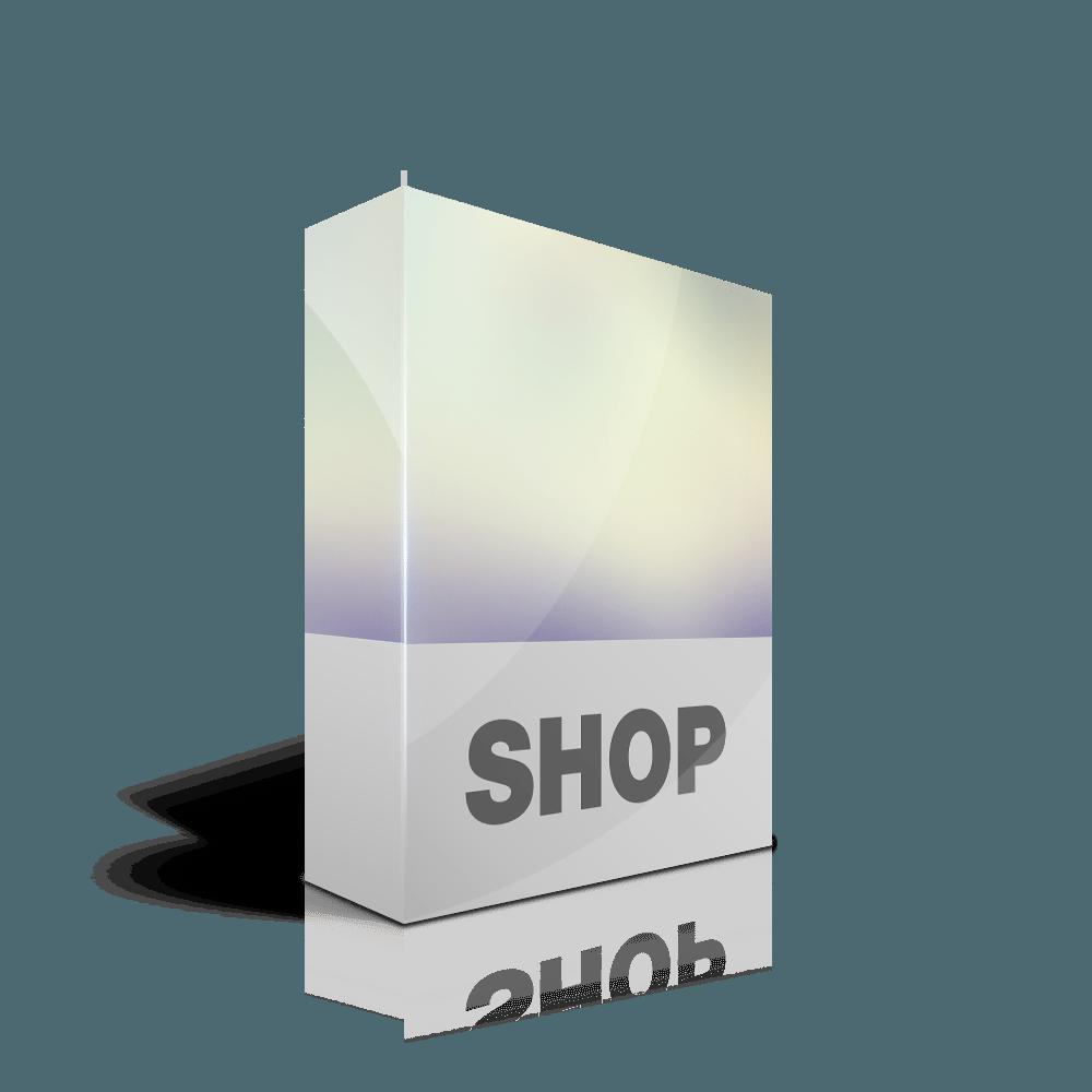 Webdesign Paket Shop