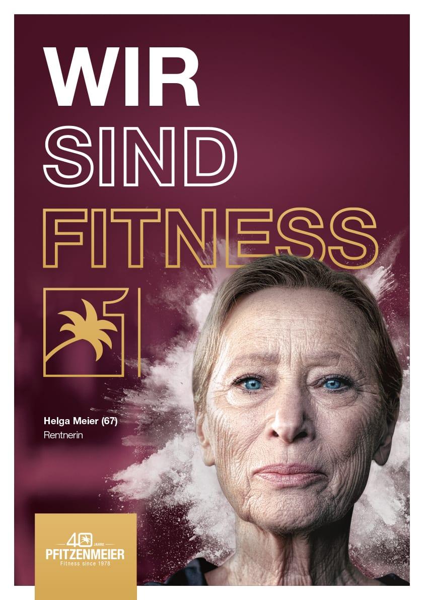 Fitness Design Poster Mannheim