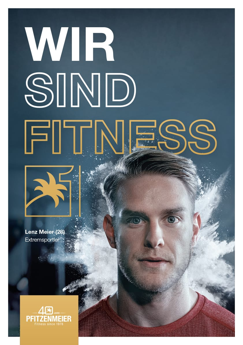 Plakat Artwork Fitness