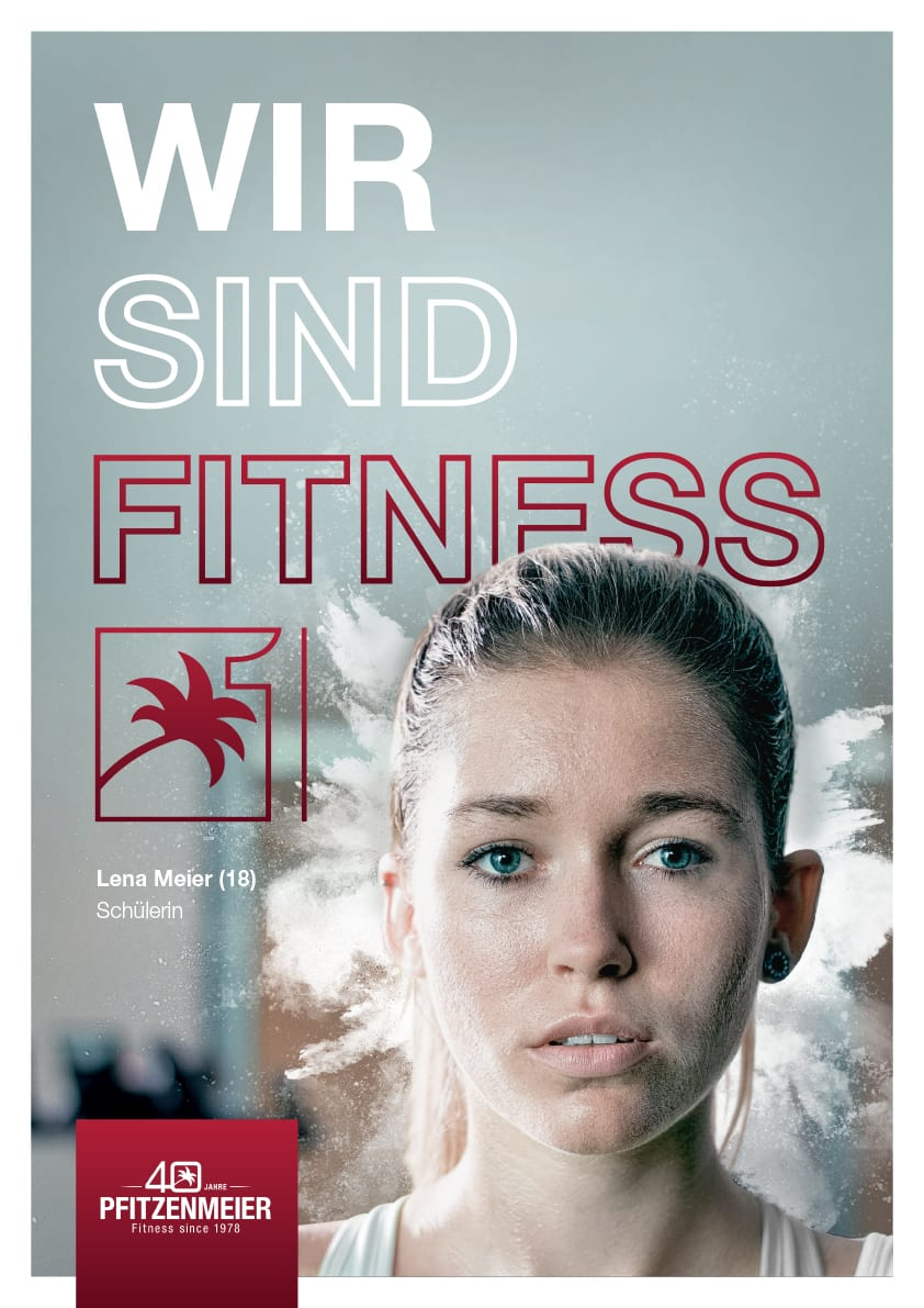 Plakat Artwork Fitness