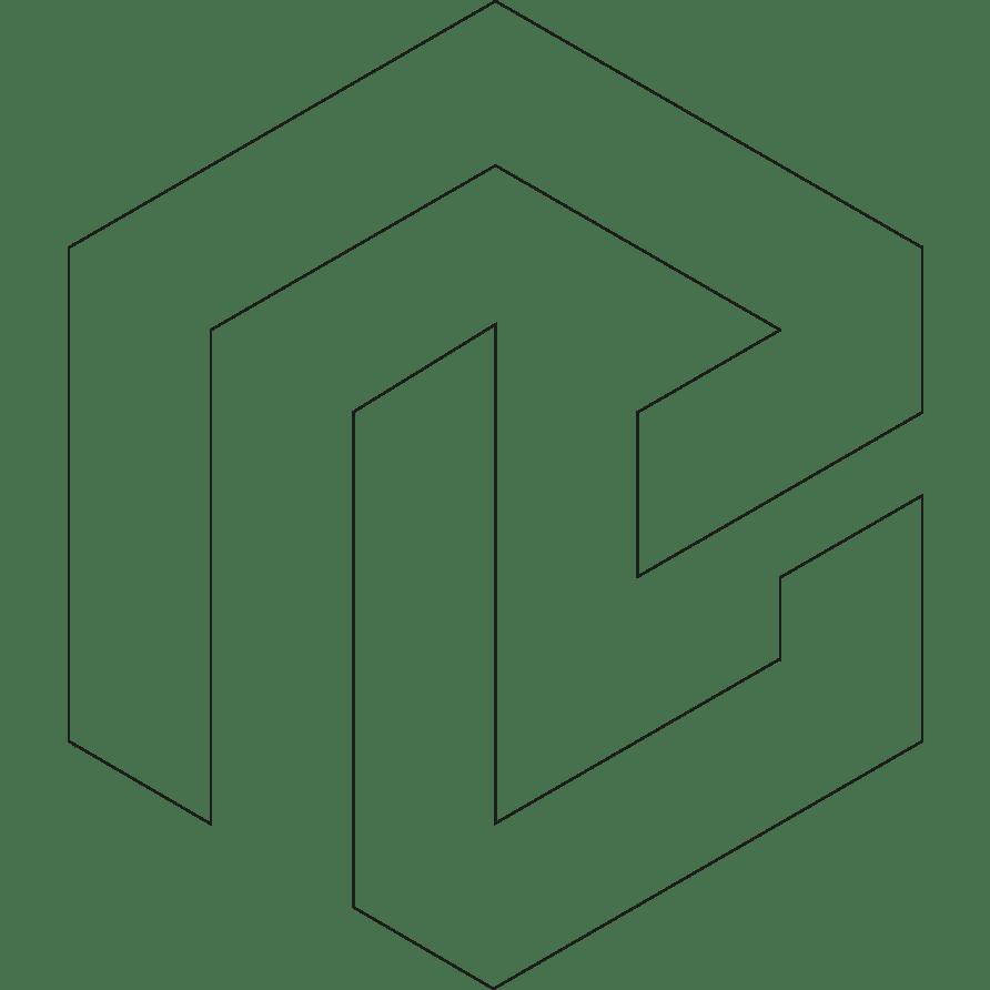 Büro Blanko Konzept & Design Logo Outline