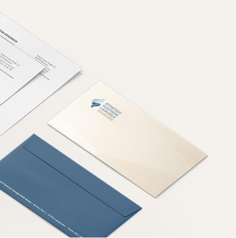 Arzt Corporate Design Büro Blanko