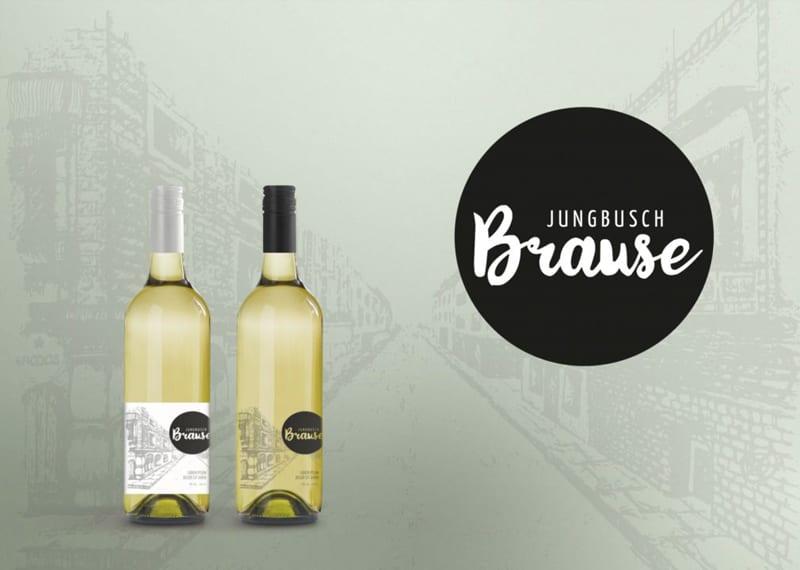 Weinflaschen Etikett Design