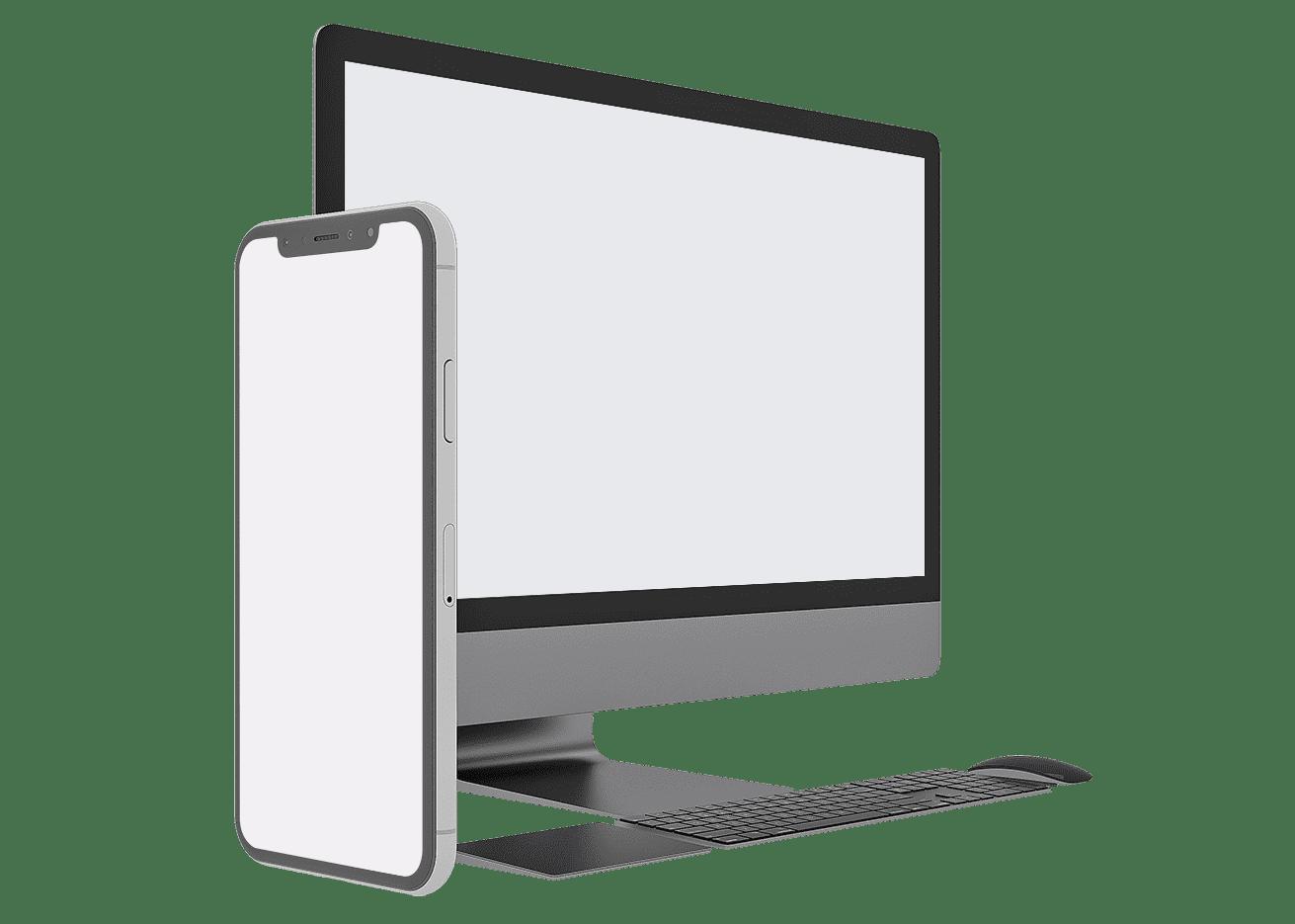 Website Leistung Büro Blanko