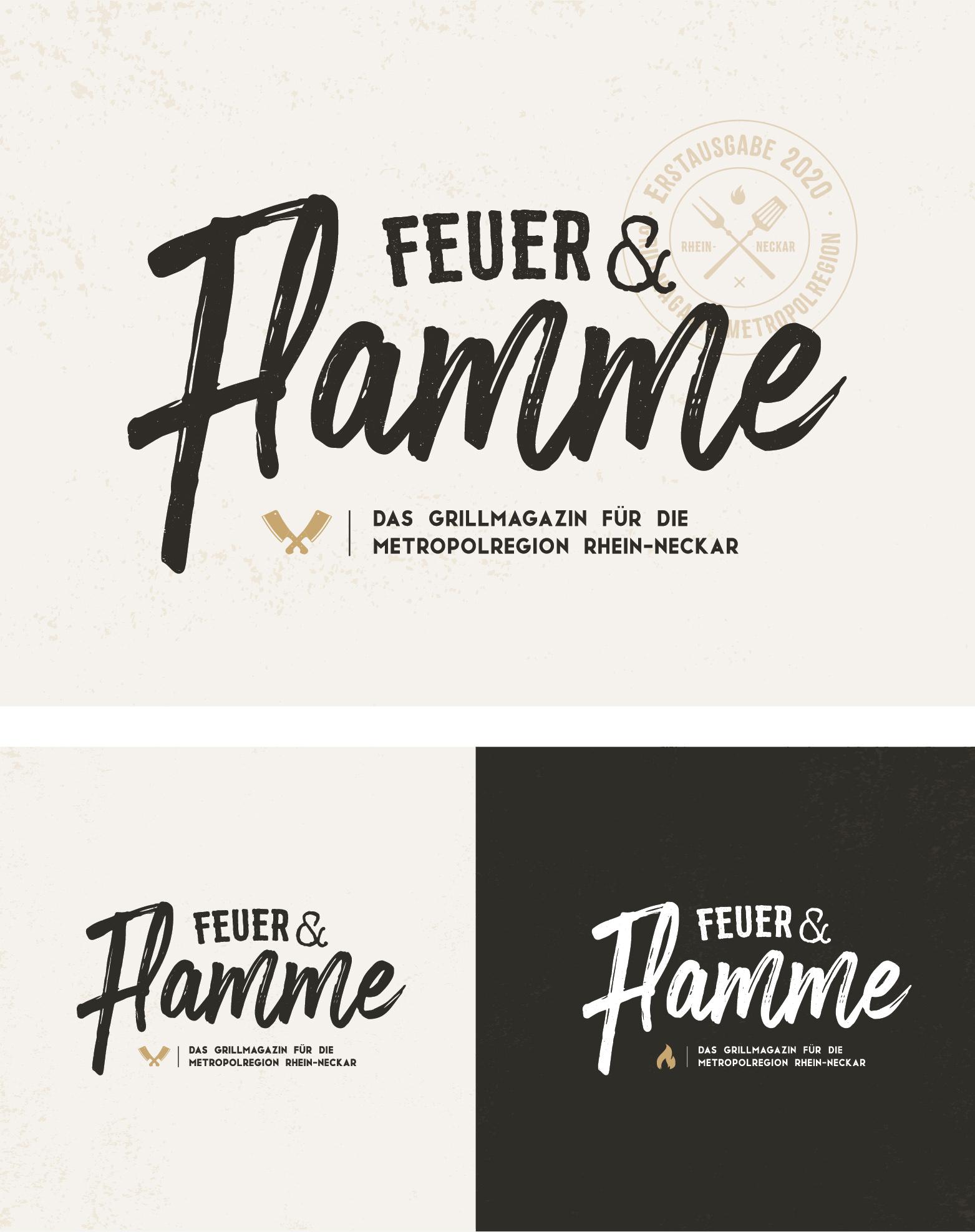 Büro Blanko Feuer & Flamme Logodesign