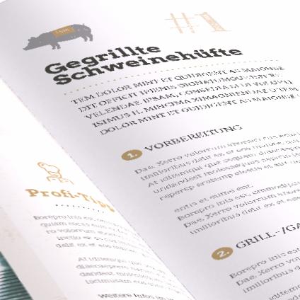 Büro Blanko Editorial Design Feuer & Flamme
